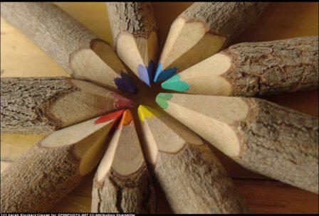 pencils wood